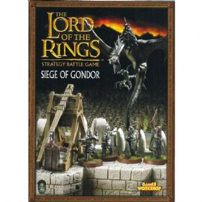 The Lord of the Rings Siege of Gondor rulebook 2003